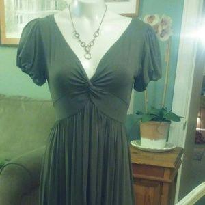 Olive Green Max Studio Dress